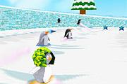 Penguen Buz kaykayı